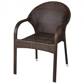Стол 119 кафяв ратан