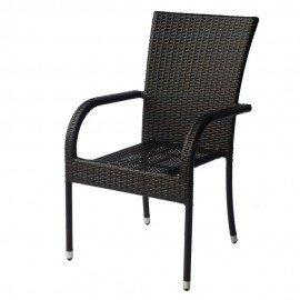 Стол 1778 кафяв ратан