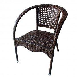 Стол 220 кафяв ратан