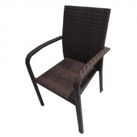 Стол 59 - кафяв ратан