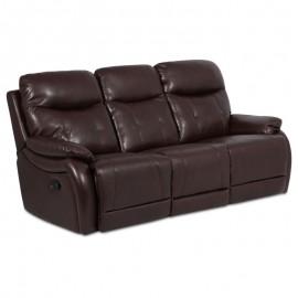 Кожен диван - тройка с релакс механизъм EROS