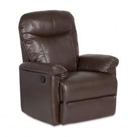 Кожен фотьойл с релакс механизъм Kronos