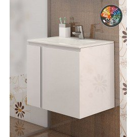 Долен шкаф за баня с мивка Мареа