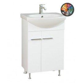 Долен шкаф за баня с мивка Атила