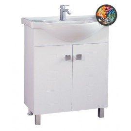 Долен шкаф за баня с мивка Дея