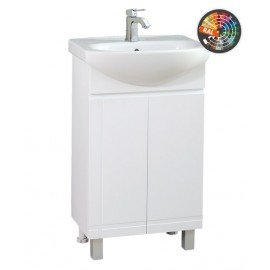 Долен шкаф за баня с мивка Ирис
