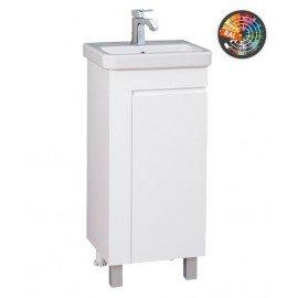 Долен шкаф за баня с мивка Вега