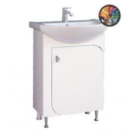 Долен шкаф за баня с мивка Вито