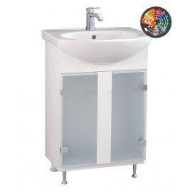 Долен шкаф за баня с мивка Лотос