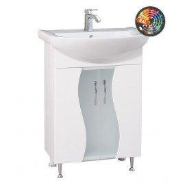 Долен шкаф за баня с мивка Мелани