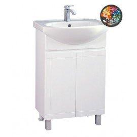Долен шкаф за баня с мивка Рила
