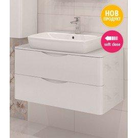 Долен шкаф за баня с мивка Смайл