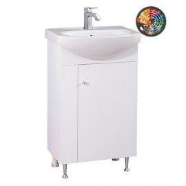 Долен шкаф за баня с мивка Стела