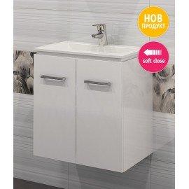 Долен шкаф за баня с мивка Феникс