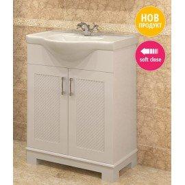 Долен шкаф за баня с мивка Хера