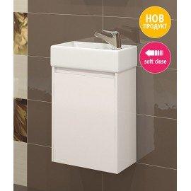 Долен шкаф за баня с мивка Лара