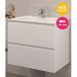 Долен шкаф за баня с мивка Прима