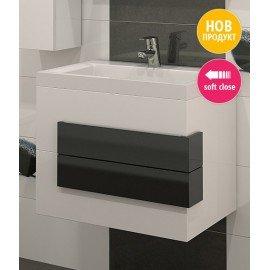 Долен шкаф за баня с мивка Сигма